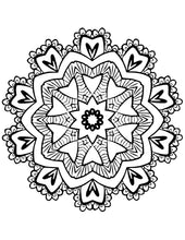 Load image into Gallery viewer, Mandala Coloring Sheets
