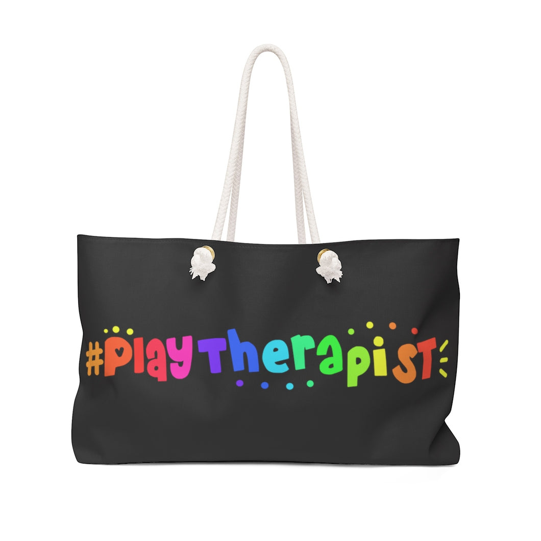 #PlayTherapist  Weekender Bag