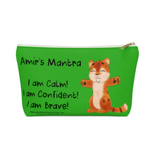 Load image into Gallery viewer, Amir's Mantra Accessory Pouch w T-bottom