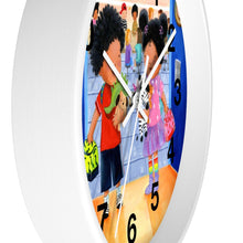 Load image into Gallery viewer, Elizabeth Makes a Friend Wall Clock