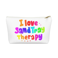 Load image into Gallery viewer, I Love SandTray Therapy Accessory Pouch w T-bottom