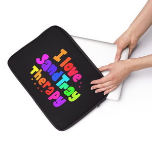I Love Sand Tray Therapy Laptop Sleeve