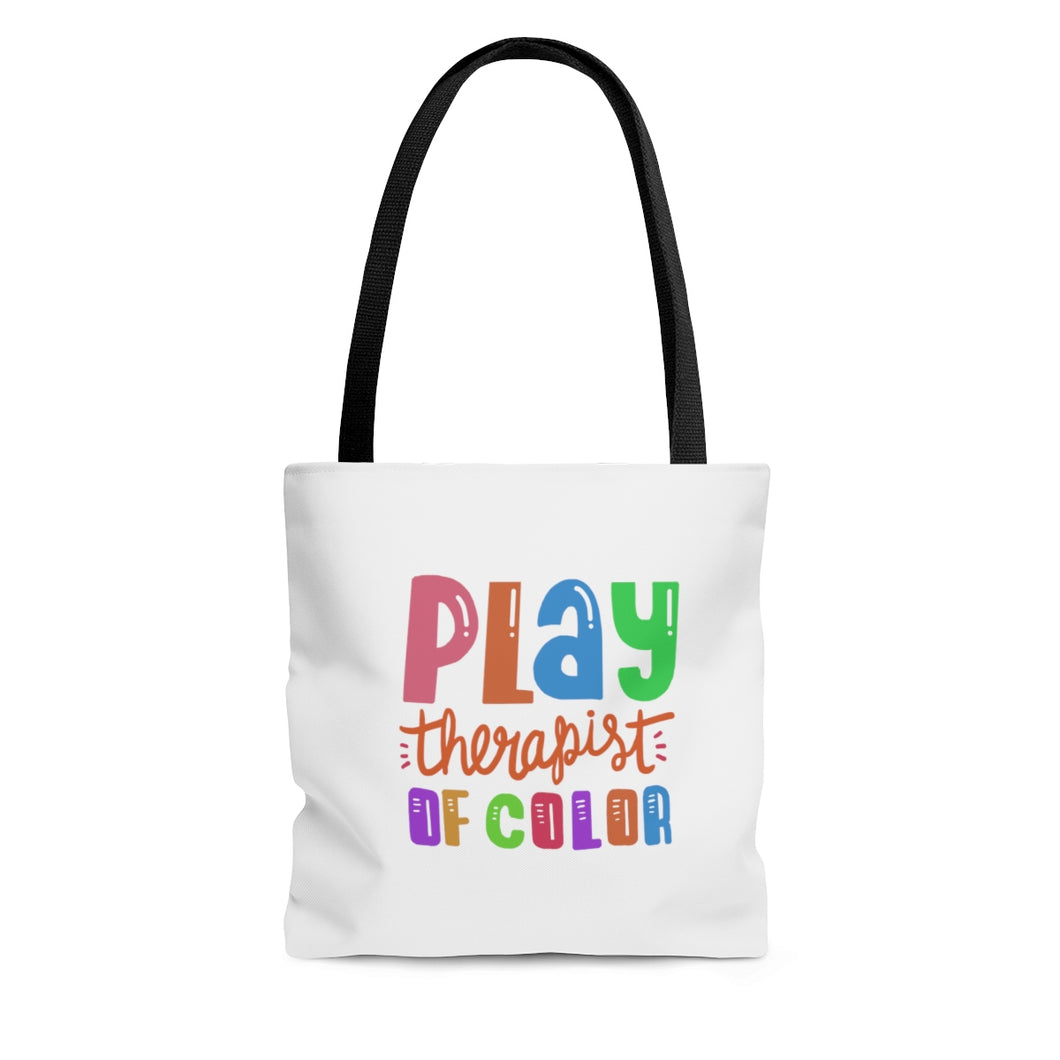 Play Therapist of Color Tote Bag