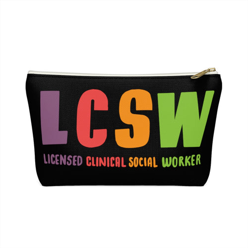 LCSW Accessory Pouch w T-bottom