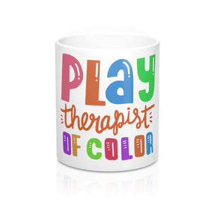 Play Therapist of Color Mug