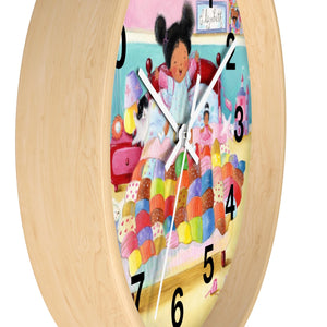No, No Elizabeth Wall clock