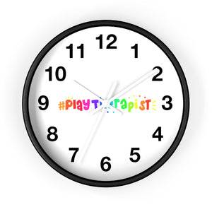 Play Therapist Wall clock