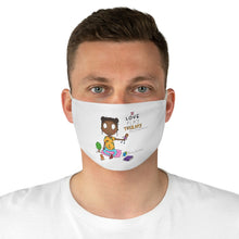 Load image into Gallery viewer, I loved Play Therapy Fabric Face Mask