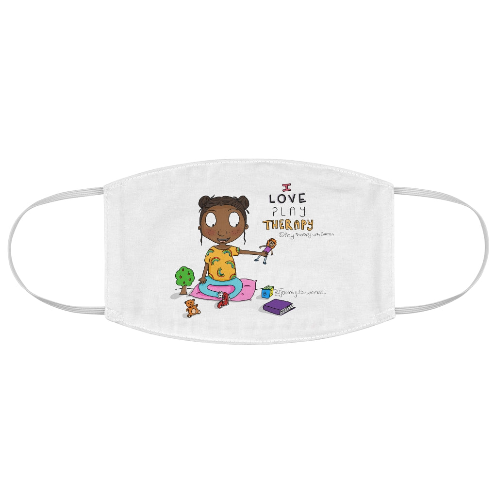 I loved Play Therapy Fabric Face Mask