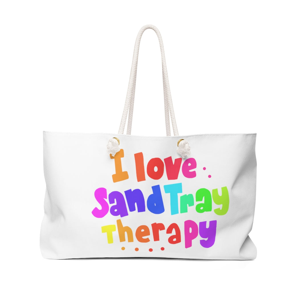 I love Sand Tray Weekender Bag
