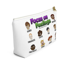 Load image into Gallery viewer, Focus on Feelings Accessory Pouch w T-bottom