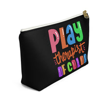 Load image into Gallery viewer, Play Therapist of Color Accessory Pouch w T-bottom
