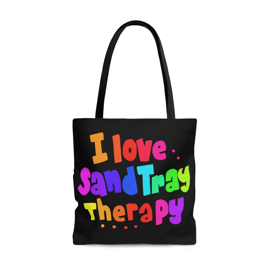 I Love SandTray Therapy Tote Bag
