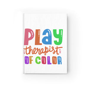 Play Therapist of Color Journal - Ruled Line