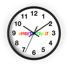 Load image into Gallery viewer, Play Therapist Wall clock