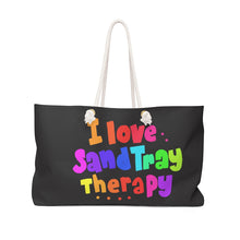 Load image into Gallery viewer, I love Sand Tray Weekender Bag