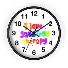 Load image into Gallery viewer, I Love Sand Tray Wall clock