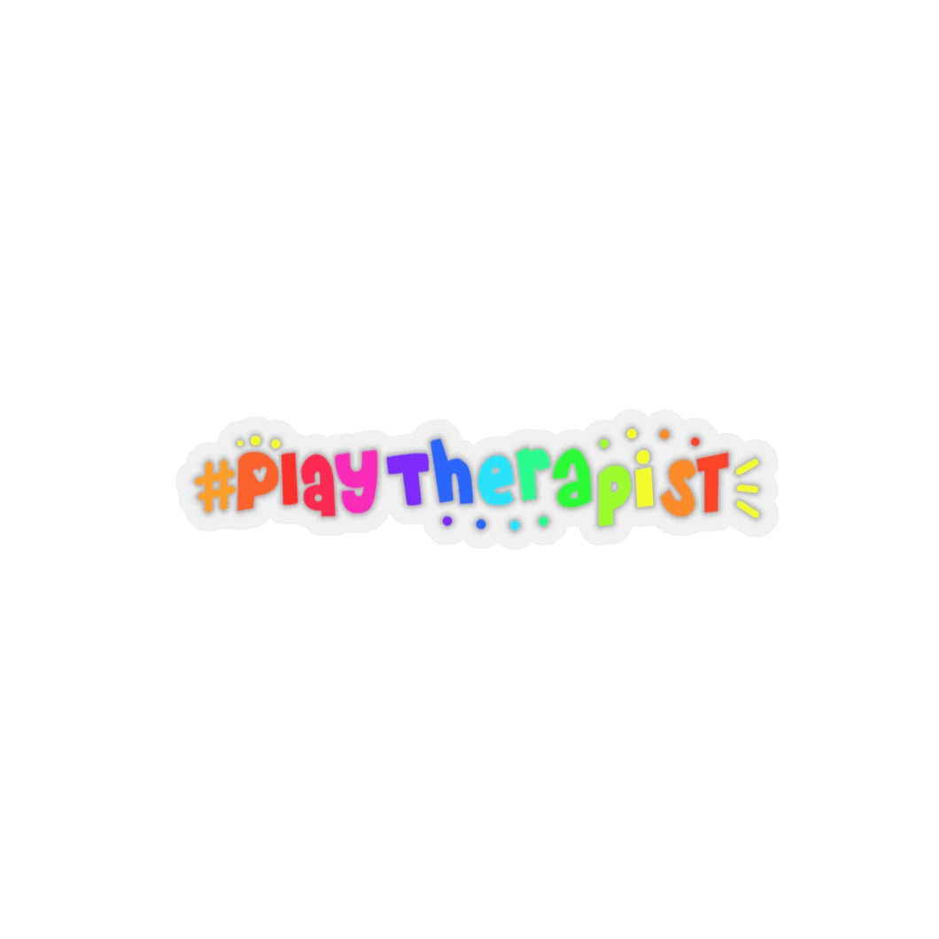 Play Therapist Kiss-Cut Stickers