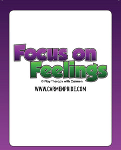Flash Cards (with words) Focus On Feelings©