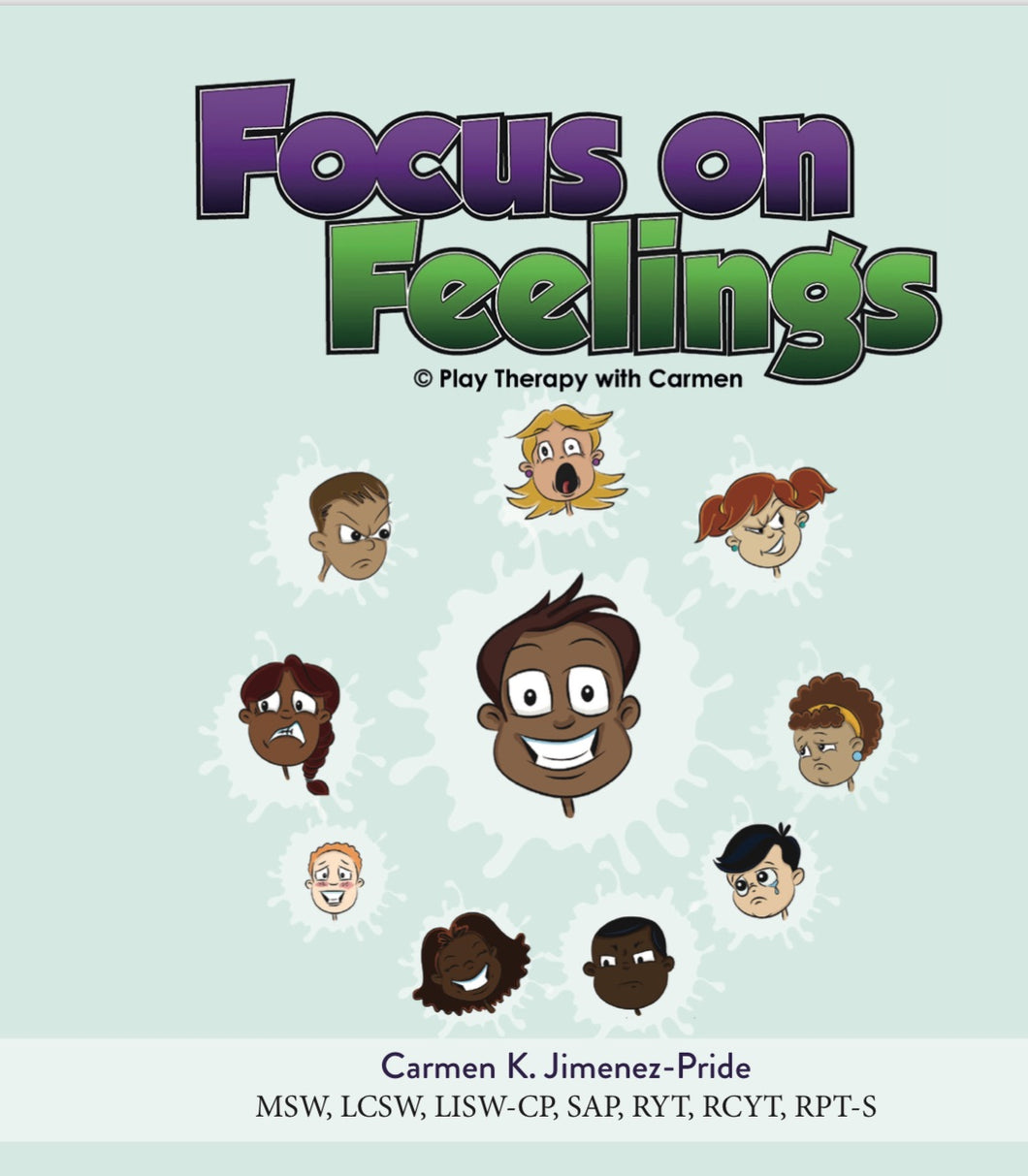 Learning about my Feelings Book (Softcover)
