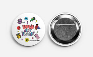 Mini I love Play Therapy Button