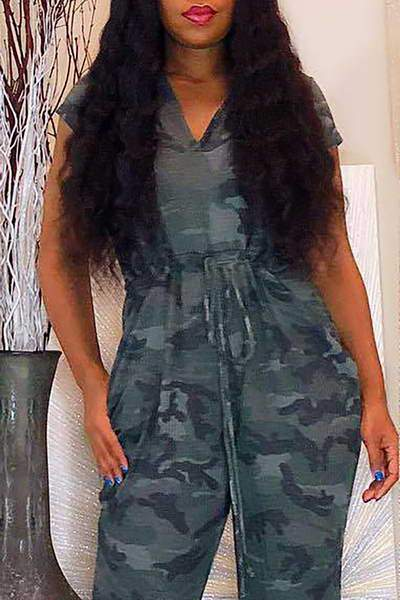 gray-cap-sleeve-hooded-long-army-camouflage-romper-jumpsuit