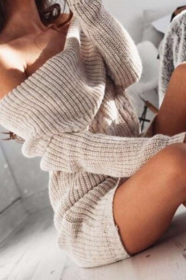 Off Shoulder Hip-Wrapped Top