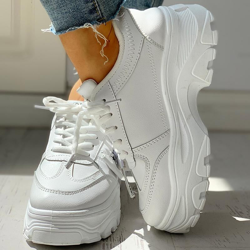 Thick Soled Sneakers