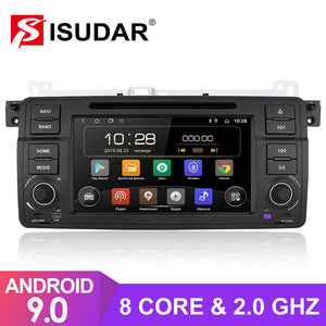 Isudar 1 Din T8 2+32G Android 9 Auto Radio For BMW/E46/M3 - ISUDAR Official Store