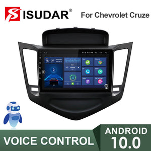 ISUDAR 4G 2 Din Android 10 Car Radio For Chevrolet Cruze J300 2013-2015