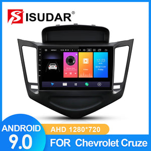 ISUDAR Car Radio For Chevrolet Cruze J300 2013 2014 2015 2 din Android 9 2+32G - ISUDAR Official Store