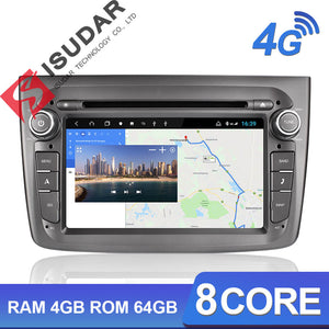 ISUDAR H53 1 Din Android Car Radio For Alfa Romeo Mito 2008- - ISUDAR Official Store