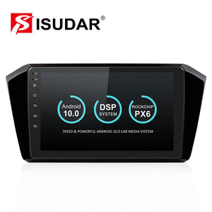 Isudar Voice conrol  Car Multimedia Player 1 Din Android 10 Car Radio For VW/Volkswagen/Passat b8 Magotan 2015 2016- - SEO Optimizer Test