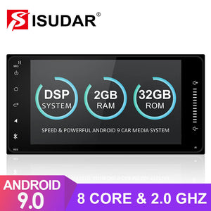 Isudar 8 core T8 Auto Radio For Toyota/Corolla/Terios - ISUDAR Official Store