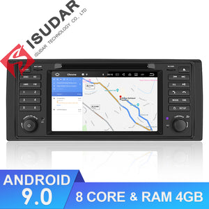 ISUDAR Auto radio Android 9 Octa core For BMW/E39/X5/E53 - ISUDAR Official Store