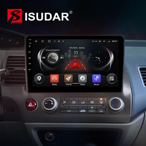 ISUDAR 4G Carplay QLED Car Radio For Civic/Honda 2006-2009 2012 - ISUDAR Official Store