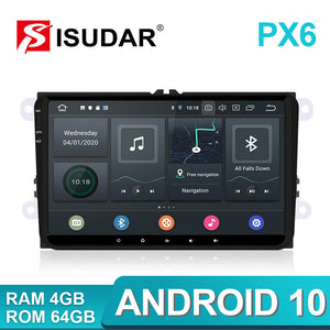 Isudar PX6 9 inch Android 10 Radio For VW/Golf/Tiguan/Skoda - SEO Optimizer Test