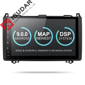 ISUDAR 2 Din Auto Radio Android 9 For Mercedes/Benz/Sprinter/Viano/Vito/B-class/B200/B180 - ISUDAR Official Store