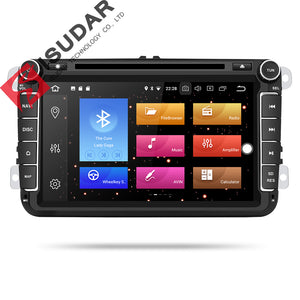 ISUDAR 2 Din Auto radio Android 9 Octa core For Skoda/Seat/Volkswagen/VW/Passat b7/POLO/GOLF - ISUDAR Official Store