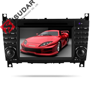 ISUDAR 2 Din Auto Radio Android 9 For Mercedes/Benz/W203/CLK200/CLK22/C180/C200 - ISUDAR Official Store