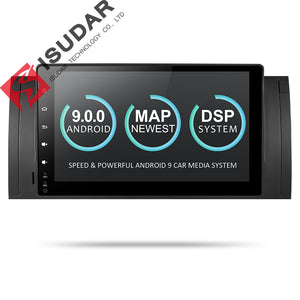 ISUDAR 2 Din Auto Radio Android 9 Quad Core For BMW/E39/E53/X5/M5 - SEO Optimizer Test