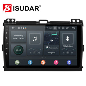 ISUDAR 1 Din Auto Radio Android 10 Octa core For Toyota/Prado 120 2004-2009 - SEO Optimizer Test
