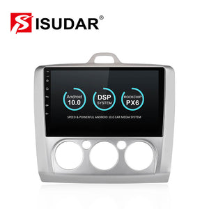 Isudar Voice control PX6 1 Din Android 10 Car Radio For Ford/Focus 2 Mk 2 2004-2008 2009-2011 - SEO Optimizer Test