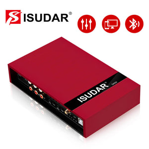 ISUDAR Plug and play DA04 Auto Stereo DSP Amplifier 4 channels input - ISUDAR Official Store