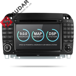 ISUDAR 2 Din Auto Radio Android 9 For Mercedes/Benz/W220/W215/S280/S320/S350/S400 S Class - SEO Optimizer Test