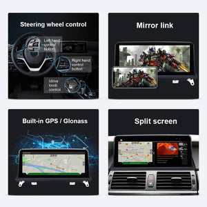 Isudar Qualcomm Android 10 1 DIN Car DVD Player for BMW X5 E70/X6 E71/F20 - ISUDAR Official Store