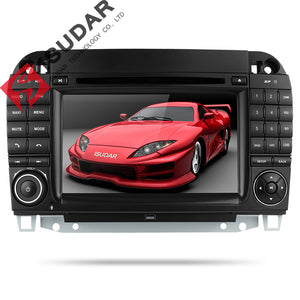 ISUDAR 2 Din Auto Radio Android 9 For Mercedes/Benz/W220/W215/S280/S320/S350/S400 S Class - ISUDAR Official Store