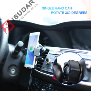 ISUDAR Qi 10W Car Wireless Charger For iPhone/Samsung/HUAWEI Mate - ISUDAR Official Store
