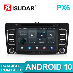 Isudar PX6 2 Din Android 10 Auto Radio For SKODA/Yeti/Octavia 2009 2010 2012 - ISUDAR Official Store