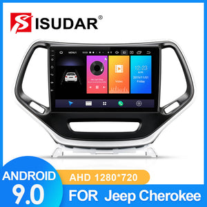 ISUDAR Car Radio For Jeep Cherokee 5 KL 2014-2018 - ISUDAR Official Store